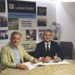 NUEVAS PROFESIONES S.A.U. centro integrado en el campus de formación de la cámara de comercio de Sevilla y la Fundación Lamaignere aúnan sus esfuerzos en el sector transitario
