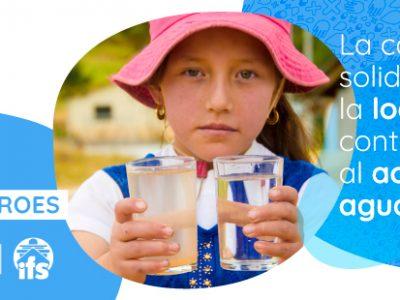 acceso de agua potable