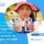 logistica contribuir al agua potable